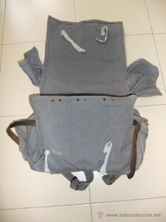 Militaria: mochila con equipo personal de miliciano,guerra civil - Foto 7 - 36595041