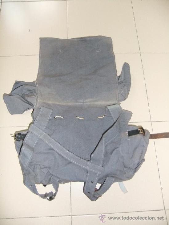 Militaria: mochila con equipo personal de miliciano,guerra civil - Foto 8 - 36595041