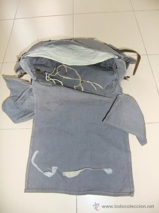 Militaria: mochila con equipo personal de miliciano,guerra civil - Foto 9 - 36595041