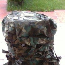 Militaria: MOCHILA CAMPAÑA EJERCITO GRAN CAPACIDAD. Lote 36652738