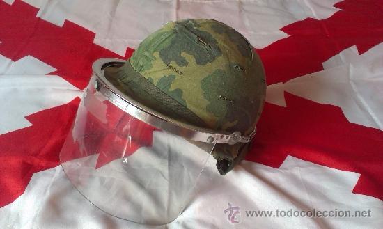 PANTALLA CASCO M1 ANTIDISTURBIOS POLICIA MILITAR US ARMY VIETNAM WAR MILITARY POLICE (Militar - Equipamiento de Campaña)