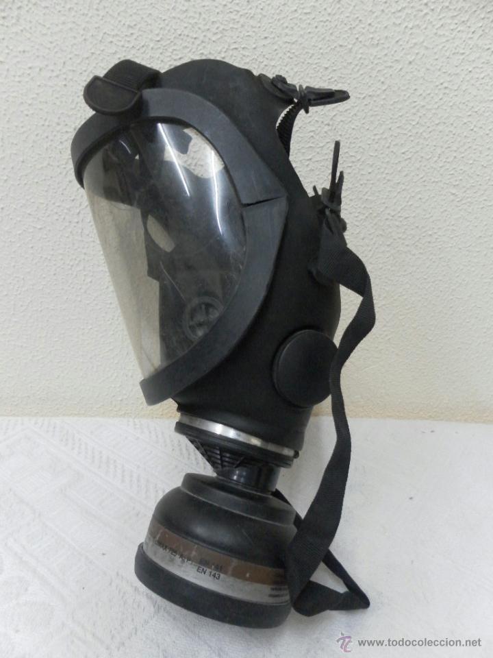 Militaria: Mascara antigás. - Foto 2 - 42543758