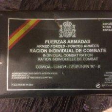 Militaria: RACION INDIVIDUAL DE COMBATE EN BOSNIA. Lote 42922002