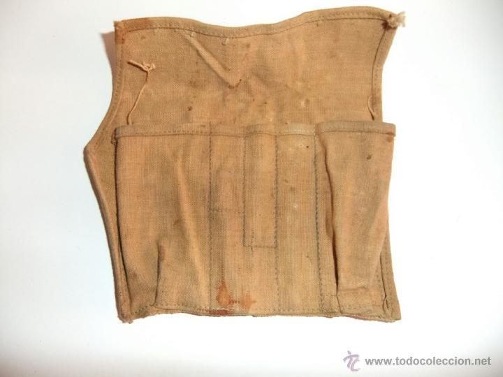 Militaria: mochila con equipo personal de miliciano,guerra civil - Foto 10 - 36595041