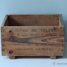 Militaria: CAJA DE POLVORA. Lote 44017085