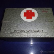 Antiguo botiquin naval caja militar sans 4 homo comprar equipamiento militar antiguo de - Botiquin antiguo ...