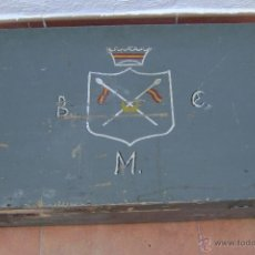 Militaria: MALETA DE MADERA MILITAR DE REGULARES , AFRICA ,ANTIGUA.. Lote 45562662
