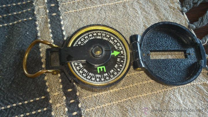 Militaria: Brújula ENGINNER DIRECTIONAL COMPASS,Con lupa. Funcionando. - Foto 3 - 46835455