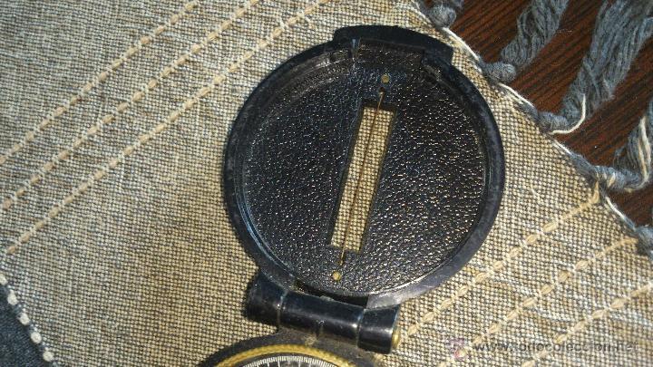 Militaria: Brújula ENGINNER DIRECTIONAL COMPASS,Con lupa. Funcionando. - Foto 4 - 46835455