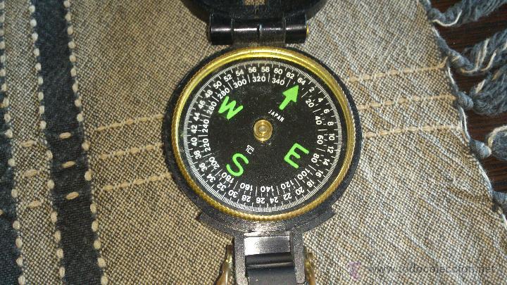 Militaria: Brújula ENGINNER DIRECTIONAL COMPASS,Con lupa. Funcionando. - Foto 5 - 46835455