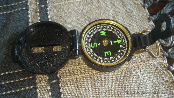 Militaria: Brújula ENGINNER DIRECTIONAL COMPASS,Con lupa. Funcionando. - Foto 6 - 46835455