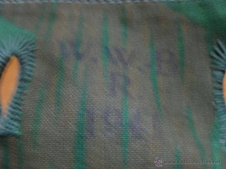 Militaria: bolsa palos y piquetas para tienda usando Zeltbahn ORIGINAL II GUERRA MUNDIAL - Foto 2 - 48138861