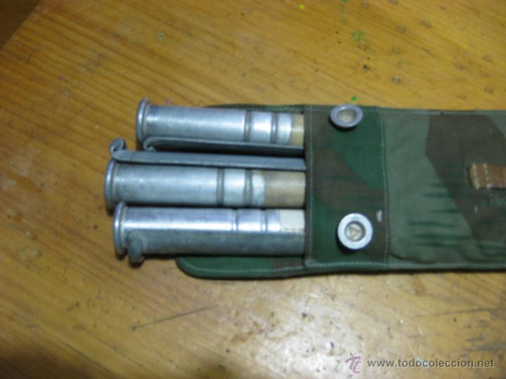 Militaria: bolsa palos y piquetas para tienda usando Zeltbahn ORIGINAL II GUERRA MUNDIAL - Foto 3 - 48138861