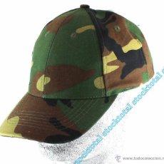 Militaria - GORRA VISERA CAMO WOODLAND AJUSTABLE 65%POLIESTER 35% ALGODON 10273T MF - 49179220