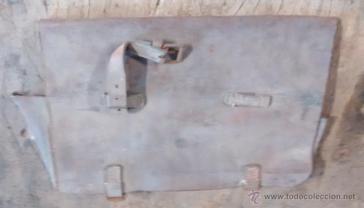 Militaria: Cartera de cuero marrón, desconozco uso, Guerra Civil - Foto 2 - 49289814