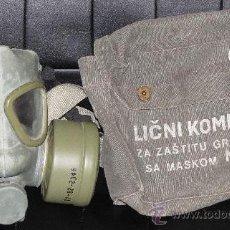 Militaria: MASCARA ANTIGAS DE LA ANTIGUA YUGOSLAVIA. Lote 49480939