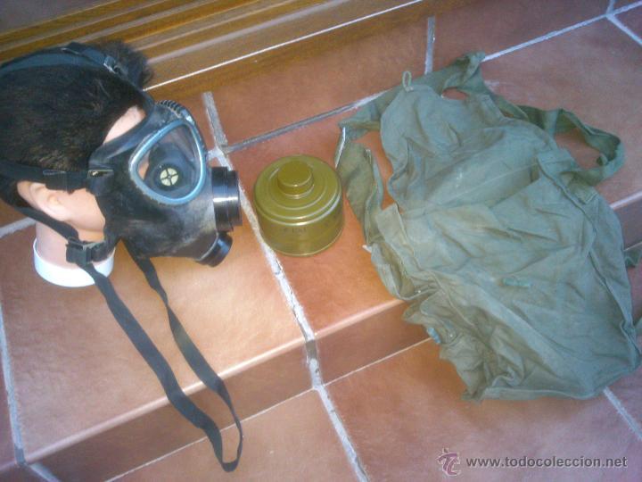 Militaria: MASCARA ANTIGÁS MILITAR ULTIMAS UNIDADES NO ADMITE OFERTAS - Foto 2 - 199284786