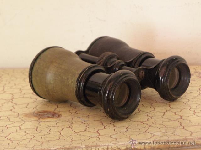 Militaria: Antiguos Prismaticos militares - Circa 1900 - Laton - Foto 2 - 50143671
