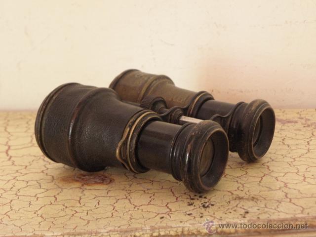 Militaria: Antiguos Prismaticos militares - Circa 1900 - Laton - Foto 3 - 50143681