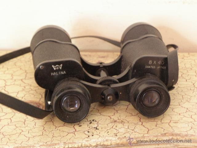 Militaria: Prismaticos Halina 8x40 coated optics - Foto 4 - 50143938