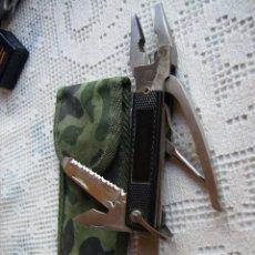 Militaria: **UTIL HERRAMIENTA DE BOLSILLO CON FUNDA (15 CM)**. Lote 51005826