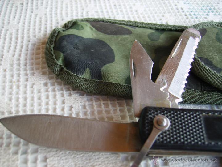 Militaria: **UTIL HERRAMIENTA DE BOLSILLO CON FUNDA (15 cm)** - Foto 4 - 51005826