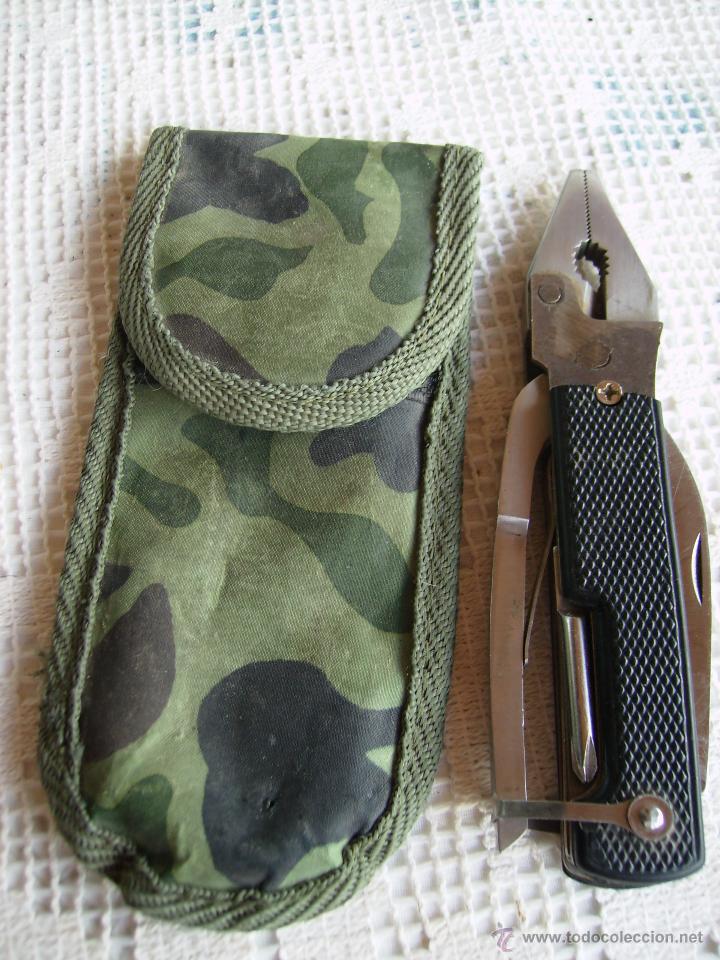 Militaria: **UTIL HERRAMIENTA DE BOLSILLO CON FUNDA (15 cm)** - Foto 5 - 51005826