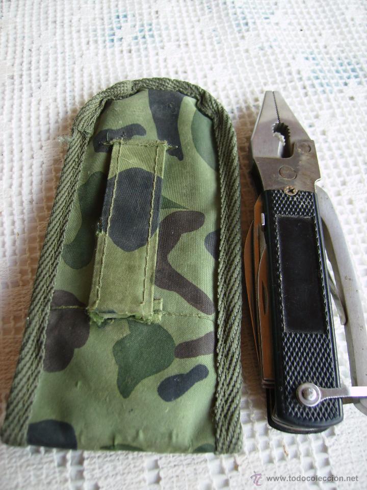Militaria: **UTIL HERRAMIENTA DE BOLSILLO CON FUNDA (15 cm)** - Foto 6 - 51005826
