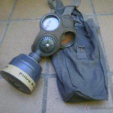 Militaria: MÁSCARA ANTIGÁS CHECA. VZ-35 FATRA GUERRA CIVIL. Lote 51422169
