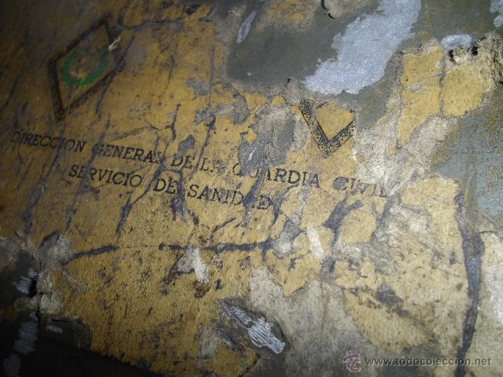 Militaria: SOLIDO BOTIQUIN GUARDIA CIVIL LAND ROVER 4X4 ORIGINAL AUTOMOVIL EQUIPAMIENTO CAMPAÑA MILITAR AÑOS 70 - Foto 2 - 51513242