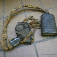 Militaria: MÁSCARA ANTIGÁS DEL EJÉRCITO ESPAÑOL. CMP. Lote 51541688