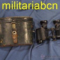 Militaria: ALEMANIA III REICH. BINOCULARES O GEMELOS UTILIZADOS POR LA WEHRMACHT. GOERZ BERLIN. 6X24 ARMEE. Lote 52787338