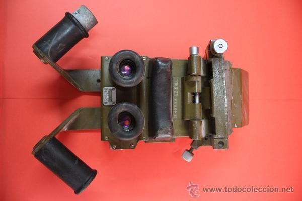 Militaria: ,,,VISOR DE CARRO DE COMBATE,,,OPTICA MECANICA EN BUEN ESTADO,,, - Foto 2 - 53880605