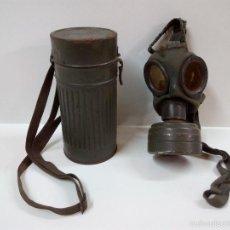 Militaria: ANTIGUA MÁSCARA ANTI-GAS CON ESTUCHE. ALEMANIA . MODELO GM-30 . Lote 57041735