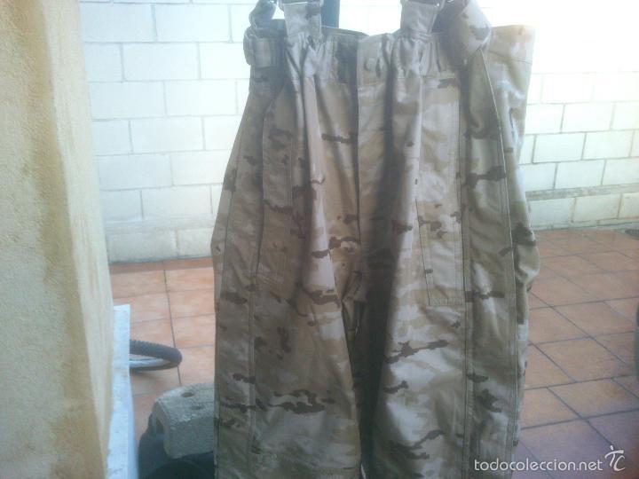 Militaria: TRAJE INTEMPERIE PIXELADO CHAQUETA MAS PANTALON-PETO.EJERCITO ESPAÑOL - Foto 3 - 57142144