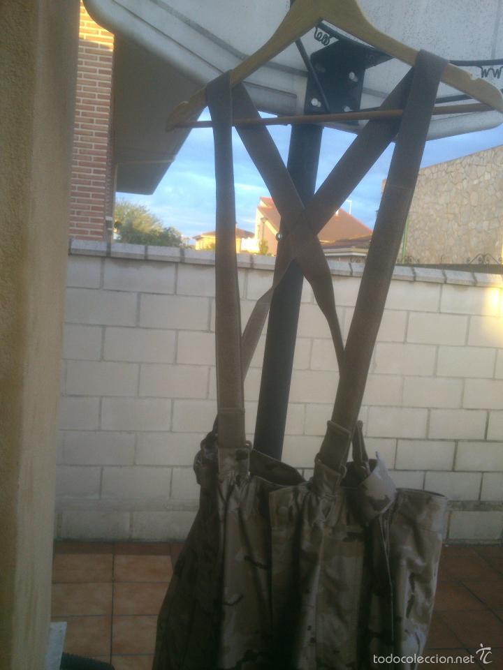 Militaria: TRAJE INTEMPERIE PIXELADO CHAQUETA MAS PANTALON-PETO.EJERCITO ESPAÑOL - Foto 4 - 57142144