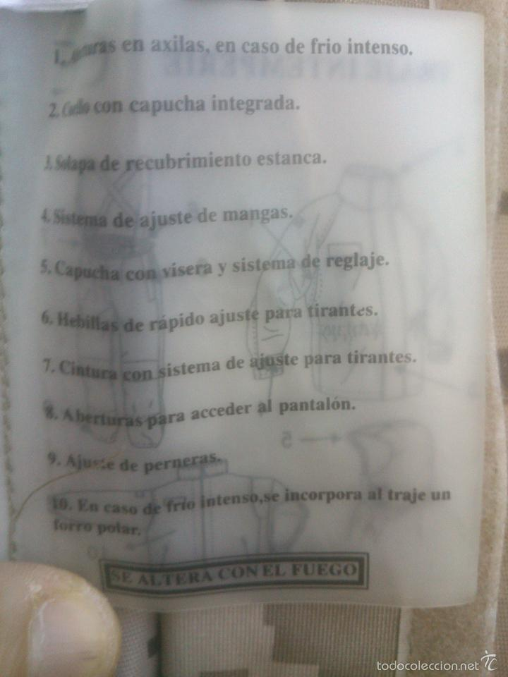 Militaria: TRAJE INTEMPERIE PIXELADO CHAQUETA MAS PANTALON-PETO.EJERCITO ESPAÑOL - Foto 7 - 57142144