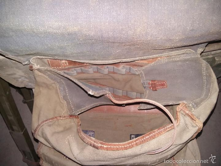Militaria: Bolsa alemana de la 2ª Guerra Mundial, para transporte de ponchos - Foto 2 - 58245386
