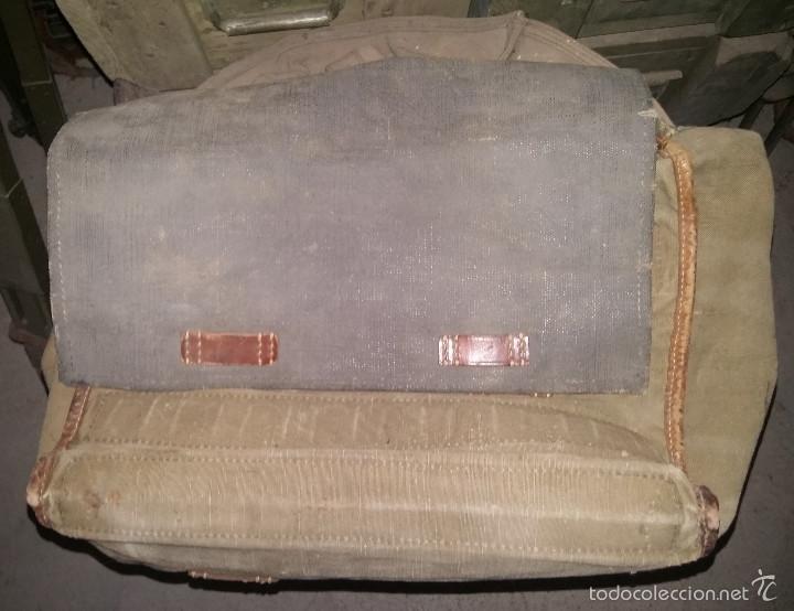 Militaria: Bolsa alemana de la 2ª Guerra Mundial, para transporte de ponchos - Foto 3 - 58245386