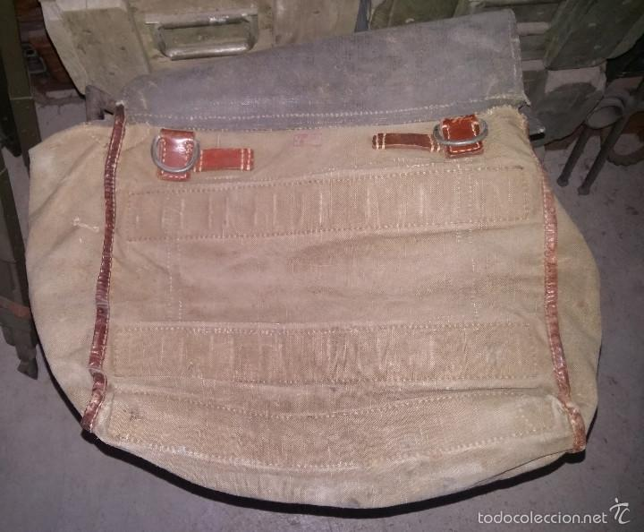 Militaria: Bolsa alemana de la 2ª Guerra Mundial, para transporte de ponchos - Foto 4 - 58245386