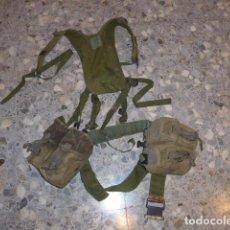 Militaria: * ANTIGUO CORREAJE DE CAMUFLAJE CON SUS CARTUCHERAS. ZX. Lote 61596692