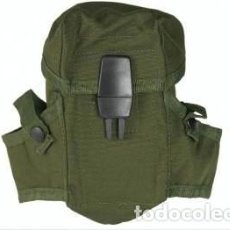 Militaria: ESTUPENDA FUNDA DE CARGADOR MIL TEC (M16) COLOR VERDE OLIVA. Lote 61782572
