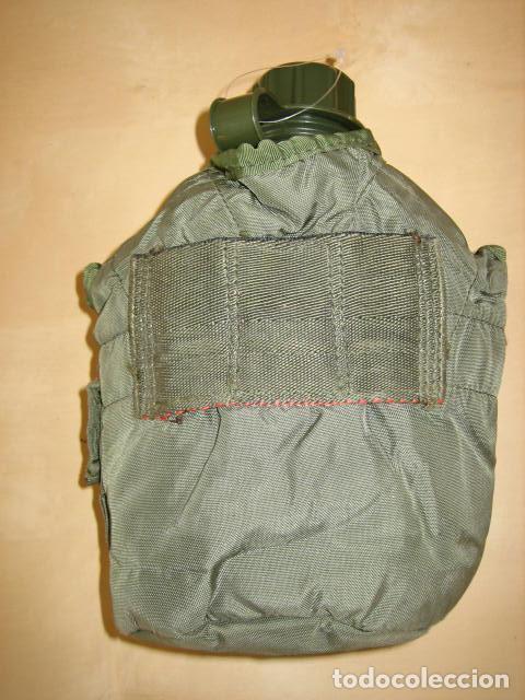 Militaria: Cantimplora militar plastico con funda US. - Foto 2 - 65251047