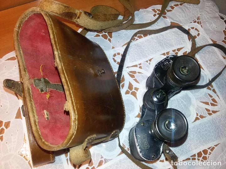 Militaria: BINOCULARES O GEMELOS TELELUX-SERIE W 8X-UTILIZADOS EN LA ALEMANIA NAZI - Foto 12 - 67674269