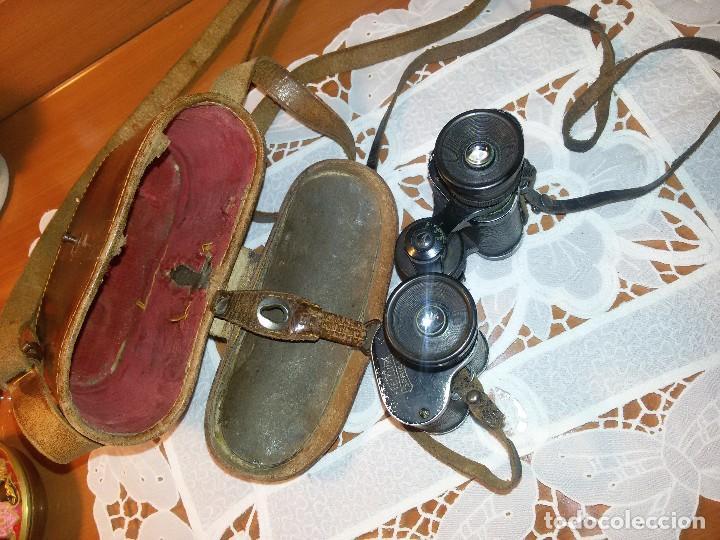 Militaria: BINOCULARES O GEMELOS TELELUX-SERIE W 8X-UTILIZADOS EN LA ALEMANIA NAZI - Foto 13 - 67674269