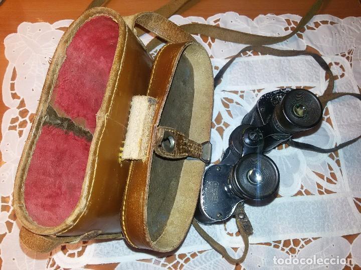Militaria: BINOCULARES O GEMELOS TELELUX-SERIE W 8X-UTILIZADOS EN LA ALEMANIA NAZI - Foto 14 - 67674269