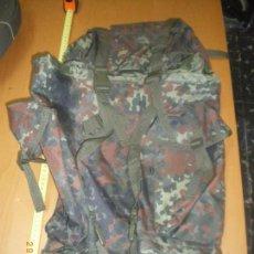 Militaria: MOCHILA ALEMANA BUNDESWEHR FLECKTARN 60L. Lote 68512717