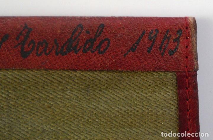 Militaria: Cartera de tela para cartilla militar. Tropa del Ejército Español. 1943 - Foto 3 - 69115849