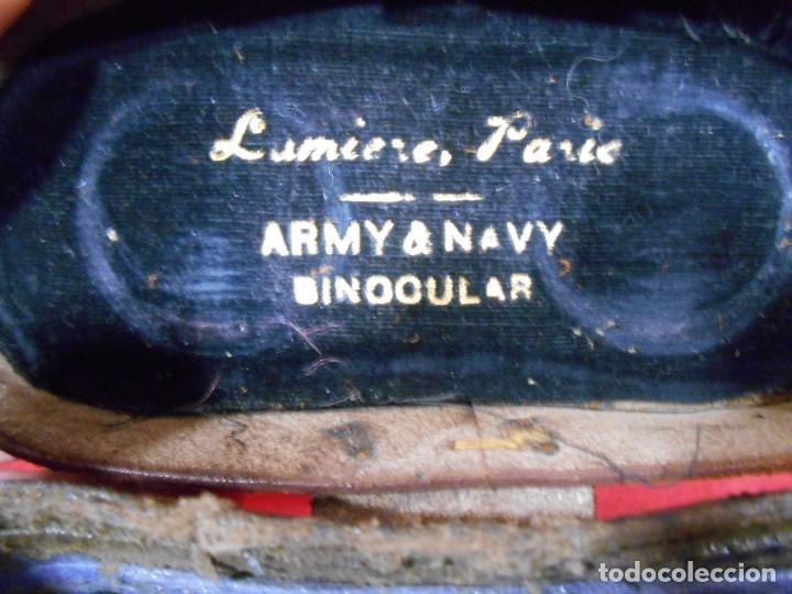 Militaria: ANTIGUA FUNDA DE PRISMATICOS MILITARES DE CUERO - Foto 3 - 69686753