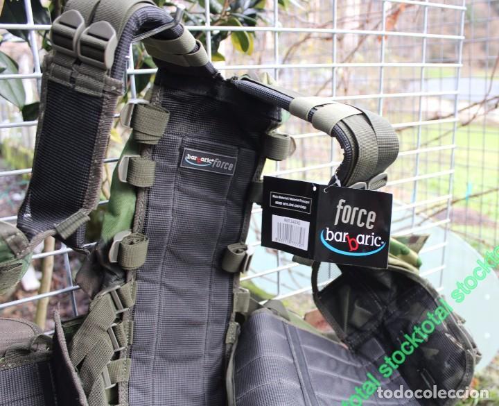 Militaria: Chaleco BARBARIC Tactico.Ajustable.CAMO Tipo: Chaleco ligero modular Mate 34230 - Foto 2 - 71535863